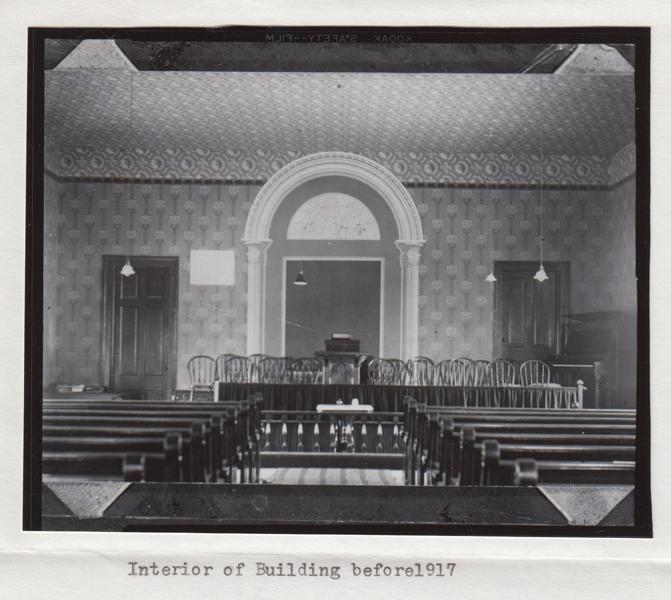 Lakeside interior before 1917