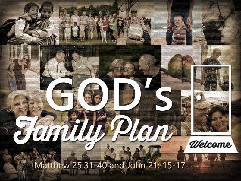 God\'s Family Plan 1