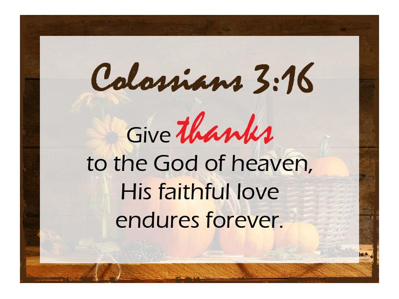 Colossians 3 16 NLT