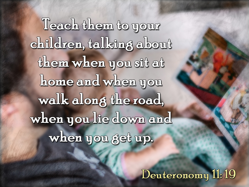 Child 6-17-18 Like Father Like Son Deuteronomy