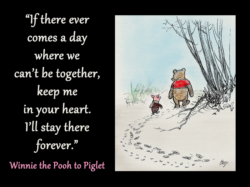 Grief 11-4-18 Two Worlds pooh heart
