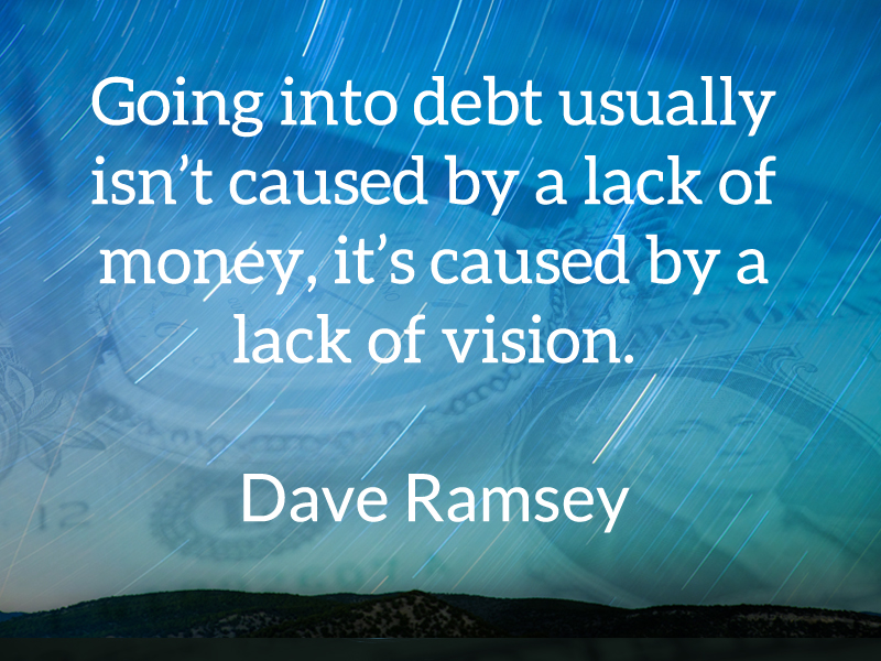 Money Work & Debt quote