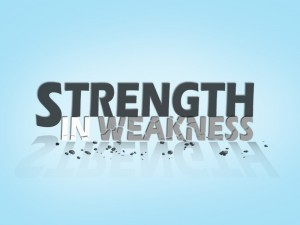 Strength in Weakness 1