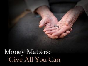 Money Matters Give 1