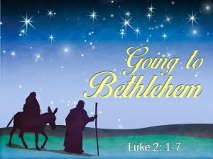 Going to Bethlehem 1