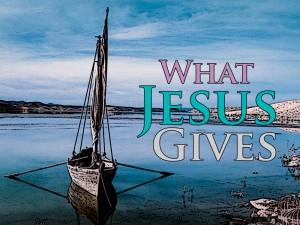 Hidden 4-10-16 Jesus Gives 1