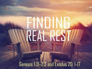 Finding Real Rest 1