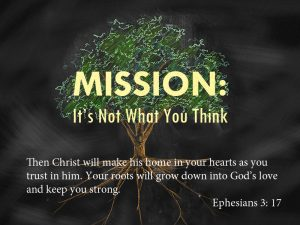 "July 31, 2016: ""Mission's Not What You Think"""